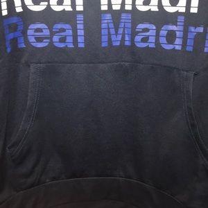 Real Madrid Shirts - Men's Real Madrid polyester sweatshirt